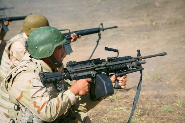 Peshmerga soldiers Combined Joint Task Force – Operation Inherent Resolve